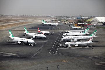 ریزش 2 میلیونی مسافران فرودگاه مهرآباد، در چهار ماهه نخست سال جاری