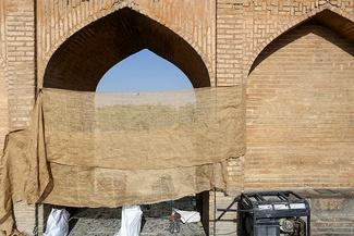 حصارکشی سیوسهپل اصفهان