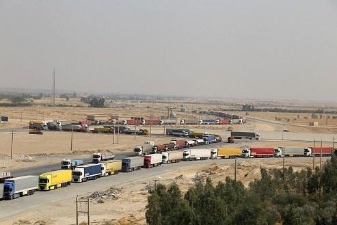 میزان ترانزیت سهماهه اول سالجاری از پایانه مرزی مهران