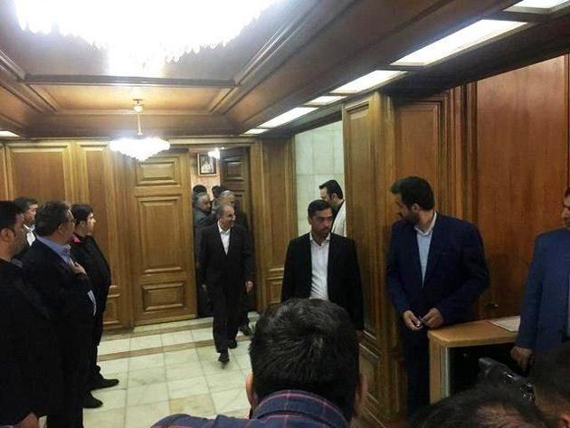 متن استعفای شهردار تهران