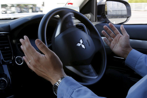 Mitsubishi to exhibit autonomous-driving vehicle xAUTO