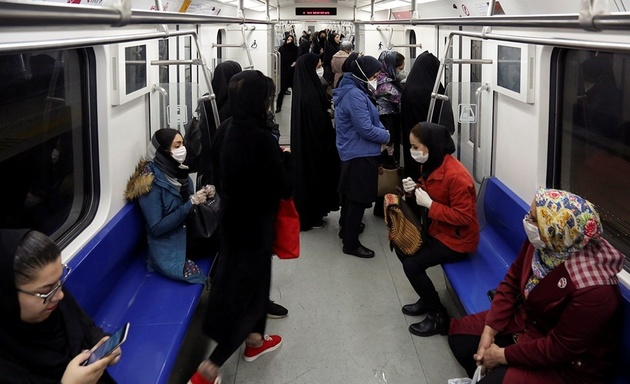 نامهنگاری درباره تهویه اتوبوس و مترو