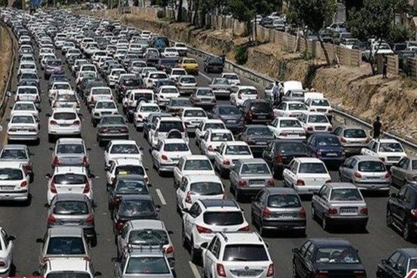 آخرین وضعیت راههای کشور/ 6 محور پر ترافیک