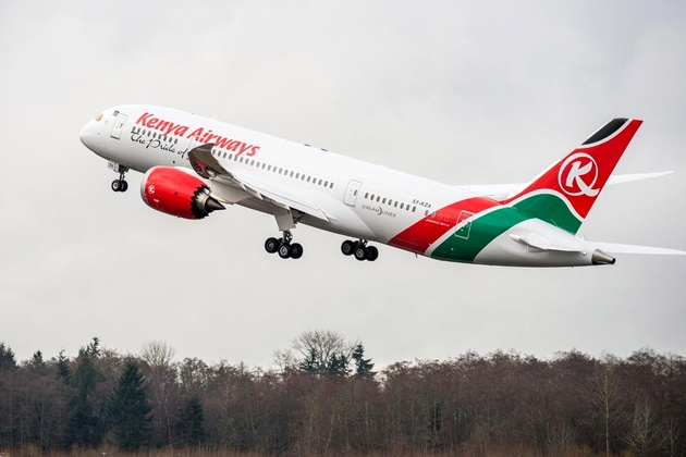 Kenya Airways to Re-establish Direct Service to Rome Fiumicino