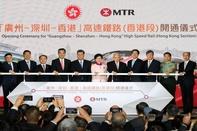 Hong Kong high speed line opens