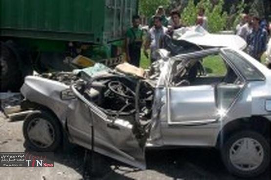 آمار کشته شدگان حوادثرانندگی کاهش نداشته / پراید قاتل ۶۰ درصد ایرانیان