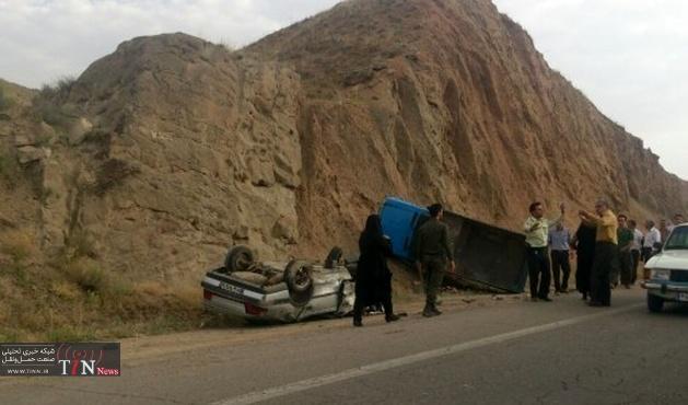 سه کشته و سه زخمی در تصادف خودروی حامل اتباع افغانی با تریلر در سقز