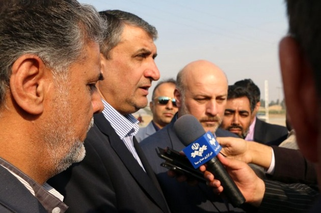 بازدید وزیر راه و شهرسازی و مدیرعامل راه آهن از چند پروژه ریلی در حومه تهران