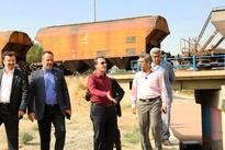 بازدید مدیرعامل راهآهن از زیرگذرهای محور ریلی شهر قدس