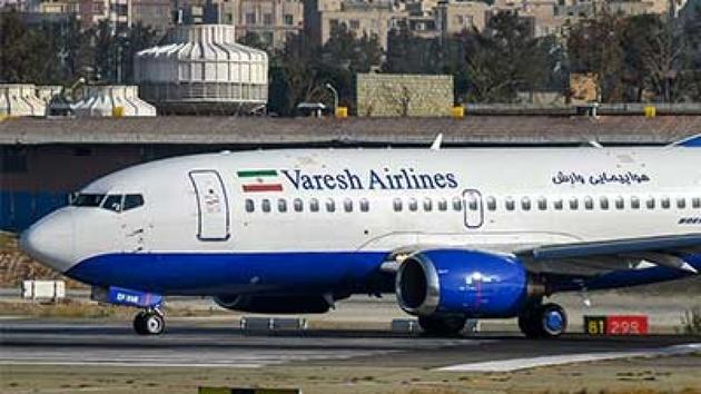 توضیحات  هواپیمایی وارش در خصوص پیاده کردن پزشک مسافر از پرواز