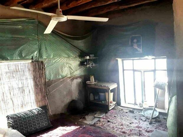 زلزله بامداد امروز به حدود ۸۰ واحد روستایی خسارت زد