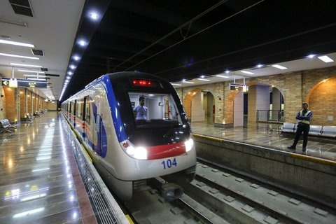 اضافه شدن دو رام قطار به خط یک مترو اصفهان به ارزش 300 میلیارد تومان