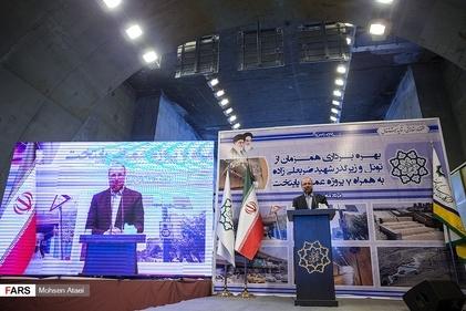 گزارش تصویری/ بهرهبرداری از تونل زیرگذر شهید ضربعلیزاده