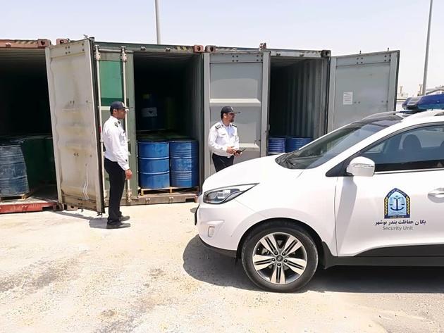 کشف سوخت قاچاق در بندر بوشهر