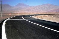 جاده بافق- یزد روی غلتک پایانی افتاد