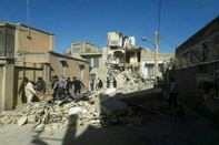 بررسی آسیبهای زلزله کرمانشاه به هنرمندان و میراث تاریخی