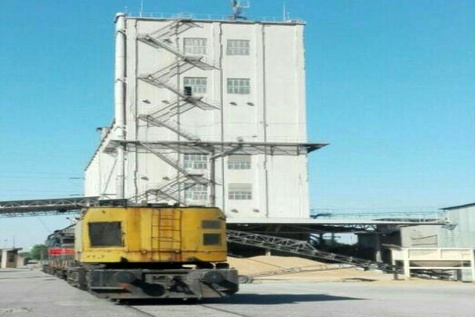 توسعه خطوط ریلی سیلوی گندم شهرستان اندیمشک