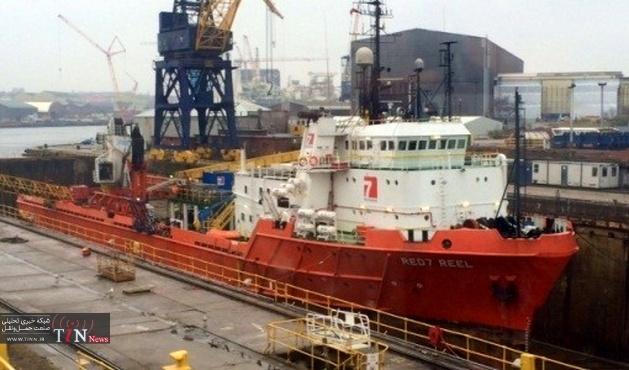 Hydrex repairs underwater rudder in Rotterdam