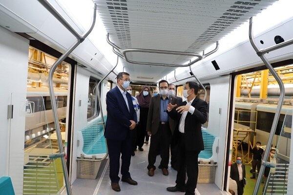 تولید ۴۲۰ دستگاه واگن برای انبوه سازی قطار ملی مترو