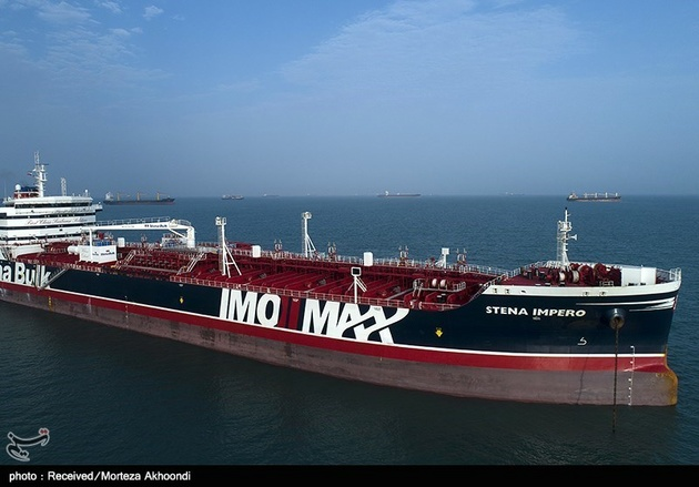 ۷ خدمه نفتکش استنا پرو پس از آزادی از ایران به دبی رسیدند