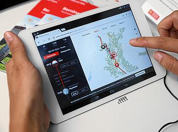 Digital guide to the Bernina Express