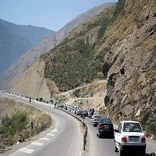 8 کیلومتر از  محور چهاربانده سوادکوه زیر بار ترافیک میرود