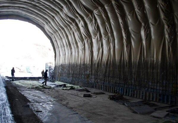 پیشرفت فیزیکی قطعه ۲ آزادراه تهران-شمال به نیمه رسید