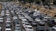 قفل شدن ترافیک جاده چالوس پس از اعلام محدودیت تردد