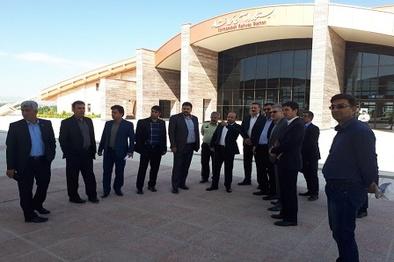 بازدید معاون بازرگانی و بهره برداری راه آهن ج.ا.ا از راه آهن کرمانشاه