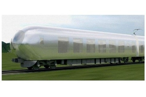 New Design Will Make Japanese Trains Almost 'Invisible'