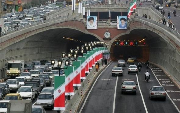 ترافیک تونل توحید تهران کاهش مییابد