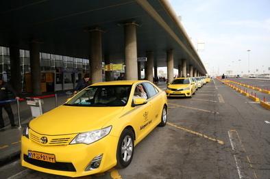 نوبت دهی تاکسی های فرودگاه امام اینترنتی میشود