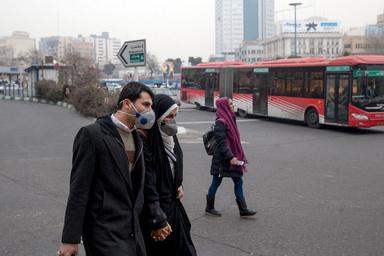 هوای پایتخت برای گروههای حساس ناسالم شد