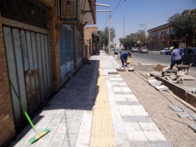 ۵۰۰ کیلومتر پیادهرو در تهران مناسبسازی میشود