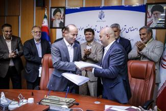 امضای قرارداد ترمینال تماممکانیزه مواد معدنی در سازمان بنادر