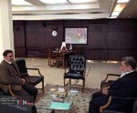 دیدار استاندار یزد با وزیر راه و شهرسازی