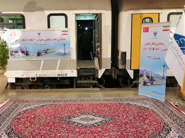 Tehran – Ankara passenger service relaunched