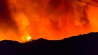 مهار ۹۵ درصدی آتش سوزی در جنگلهای گچساران/ آتش سوزی همچنان ادامه دارد