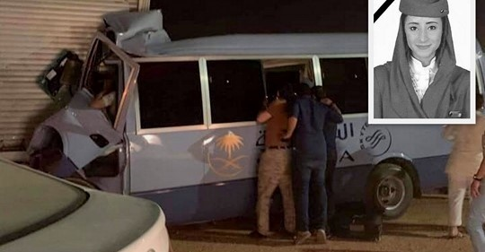 One flight attendant killed and eleven injured in Saudia crew bus crash