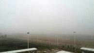 پروازهای فرودگاه تبریز به علت مه غلیظ با تاخیر انجام میشود