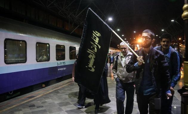 تعداد قطارهای اربعین به ۹۰۸ رام افزایش یافت