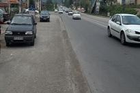 فیلمی از دست اندازهای جاده قائمشهر در استان مازندران
