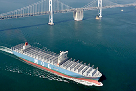 MOL delivers 'MOL Truth' containership to Japan