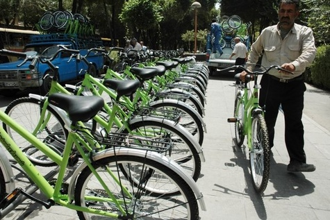 تدوین طرح جامع دوچرخه شهر تهران