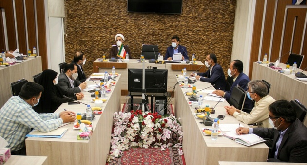 دیدار مدیرکل بنیاد شهید و امور ایثارگران فارس با  مدیر کل راه و شهرسازى لارستان