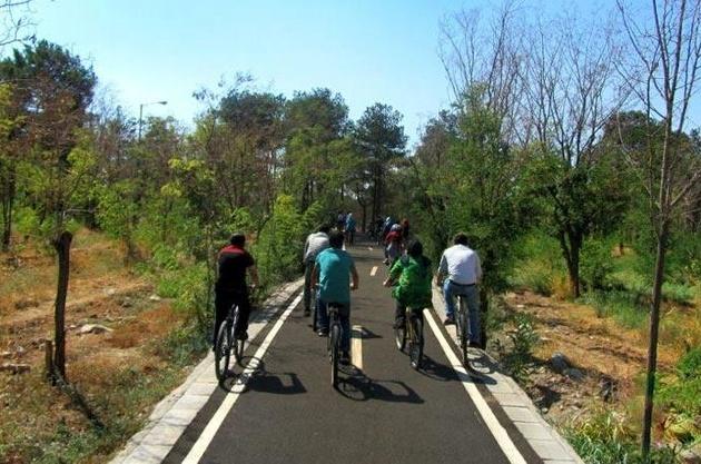احداث مسیر دوچرخهسواری در منطقه 22