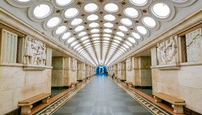 زیبایی سحرآمیز ایستگاههای مترو در شوروی سابق