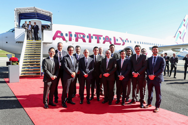 Air Italy takes delivery of its first Boeing 737 Max