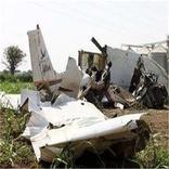 هواپیمای عربستان سقوط کرد