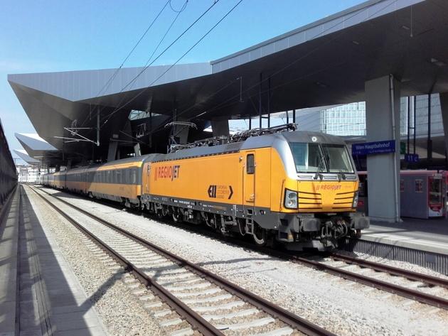 Westbahn to operate RegioJet's Wien – Praha trains